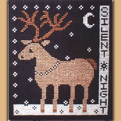 """Silent Night"" Pattern - Clearance Cross-stitch Patterns, Clearance"