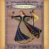 Dance of the Summer Solstice Cross Stitch Pattern