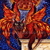 Sunfire Cross Stitch Pattern - Fairies, Counted Cross Stitch Patterns - Celtic Patterns, Pagan Patterns, Fantasy Patterns and more, Cats