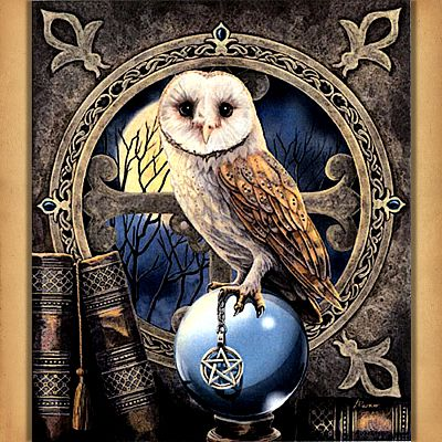 The Spell Keeper Cross Stitch Pattern