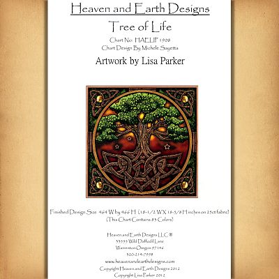 Heaven and earth designs схемы
