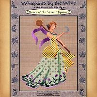 Dance of the Vernal Equinox Cross Stitch Pattern