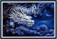 White dragon cross stitch pattern cross stitch patterns here be