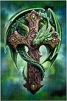 Woodland Guardian Cross Stitch Pattern