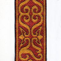 Rust and Copper Arabesque Trim
