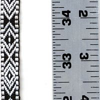 Black and White Diamond Trim