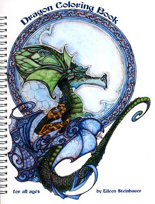 Dragon Coloring Book - Coloring Books, Here Be Dragons!