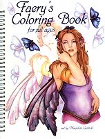 Faery's Coloring Book - Coloring Books, Fairies