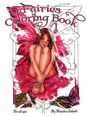 Fairies Coloring Book #1 - Coloring Books, Fairies