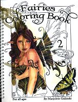 Fairies Coloring Book #2