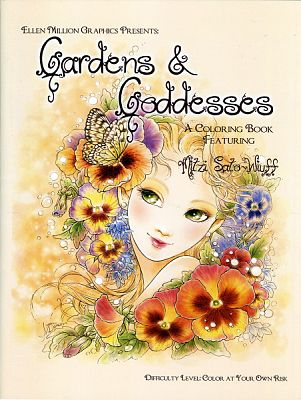Gardens and Goddesses Coloring Book, Vol. 1 - Coloring Books, Goddess