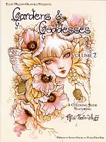 Gardens and Goddesses Coloring Book, Vol. 2 - Coloring Books, Goddess