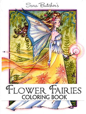 Sara Butcher\'s Flower Fairies Coloring Book for You at Gryphon\'s Moon