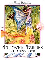 Sara Butcher's Flower Fairies Coloring Book - Coloring Books, Fairies