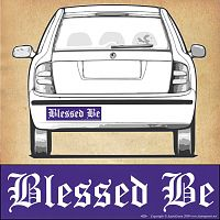 """Blessed Be"" Bumper Sticker"