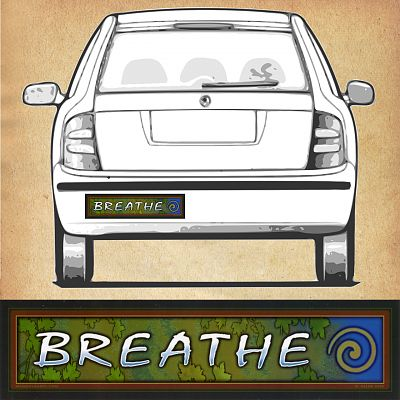 Breathe - Bumper Sticker