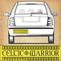 """Celtic Warrior"" Bumper Sticker"