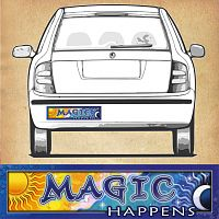 Magic - Bumper Sticker