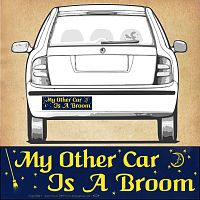 """My Other Car…"" Bumper Sticker"