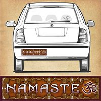 Namaste - Bumper Sticker