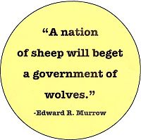 quot a nation of sheep will beget