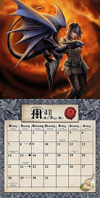 Anne Stokes Calendar 2018 - Free shipping on orders over