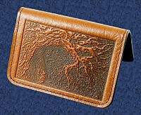 Oak Tree Mini Wallet/Card Holder