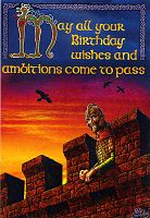 Birthday Ambitions Card