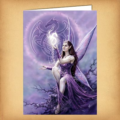 Draco Faerie Dragon Greeting Card