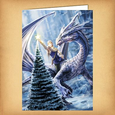 Winter Fantasy Christmas Card