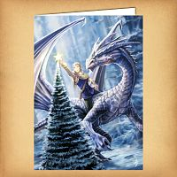 Winter Fantasy Yule Card
