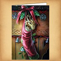 Magical Arrival Yule Card