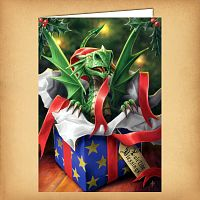 Surprise Gift Yule Card