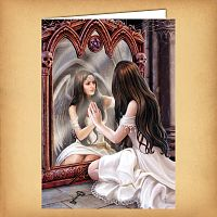 Magical Mirror Greeting Card