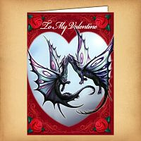 """Fly Away With Me"" Valentine's Card"