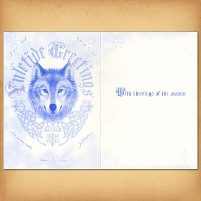 Winter guardians greeting card at gryphons moon winter guardians greeting card winter guardians greeting card m4hsunfo