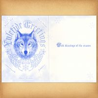 Winter Protector Yule Card