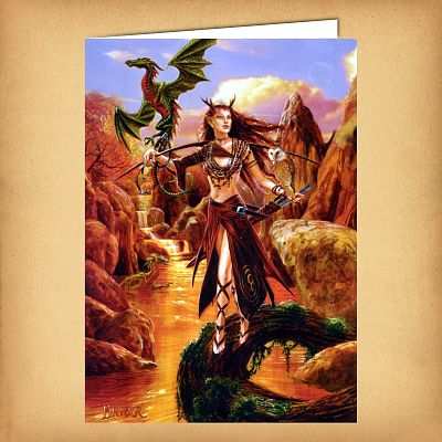 Artemis Greeting Card