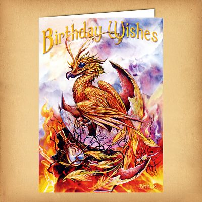 Shop Phoenix Birthday Card