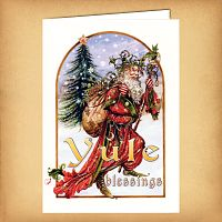 Yule Herne Christmas Card