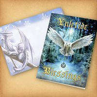 """Awake Your Magic"" Yule Card"