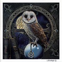 Spell Keeper Owl Greeting Card