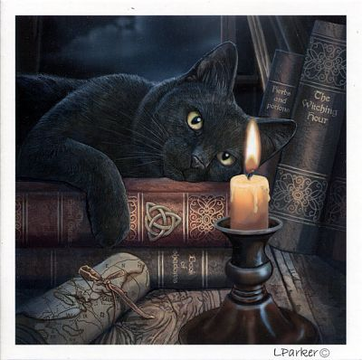 Witching Hour Greeting Card At Gryphon S Moon