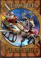 Steampunk Santa Yule Card - Yule & Christmas Cards