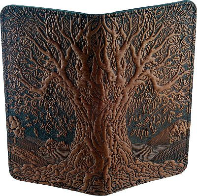 Shop Ancient Oak Tree Checkbook Cover Free Shipping On