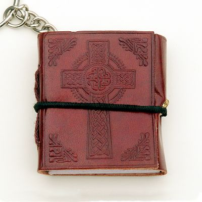 Celtic Cross Keychain Journal