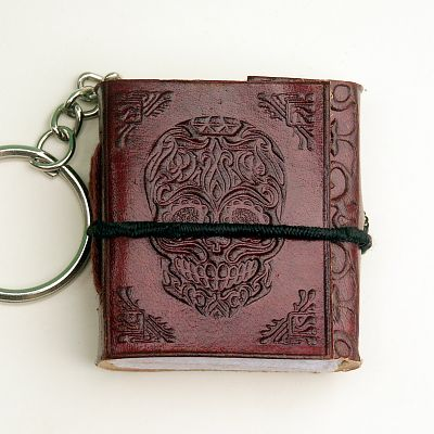 Day of the Dead Keychain Journal