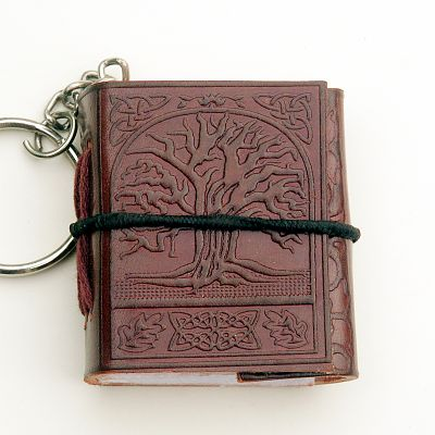 Tree of Life Keychain Journal