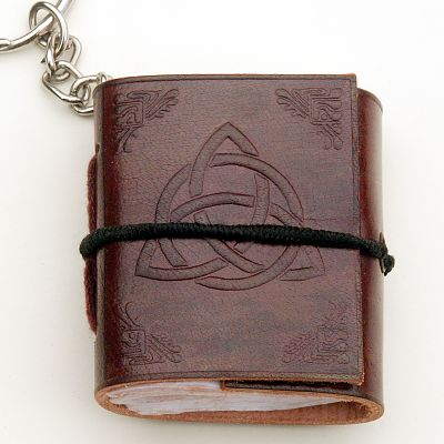 Triquetra Keychain Journal