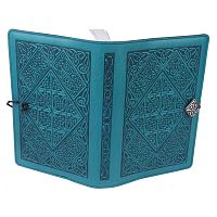 Large Diamond Knotwork Leather Journal